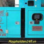 Cung cấp, lắp đặt máy phát điện cho các trạm BTS thuộc Mobifone KV4 và KV6